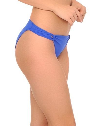 Reflections Mix Match Halat Modeli Düz Bikini Altı Saks